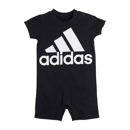 adidas Baby Boys Short Sleeve Romper