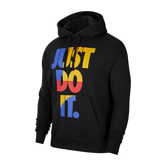 Nike Just Do It Mens Long Sleeve Hoodie