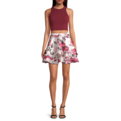 City Triangle-Juniors Sleeveless Dress Set
