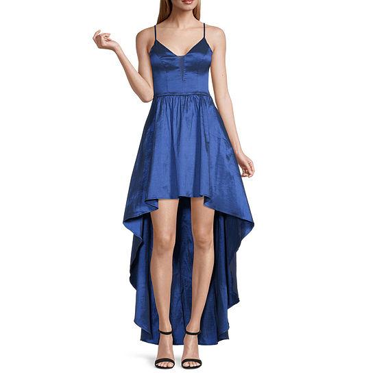 B. Smart Sleeveless High-Low Party Dress-Juniors