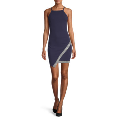 Byer California-Juniors Sleeveless Bodycon Dress