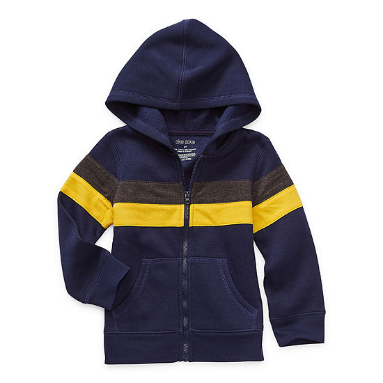 Okie Dokie Fleece Toddler Boys Hoodie