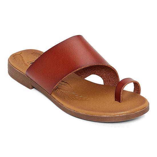 Pop Womens Madelena Flat Sandals