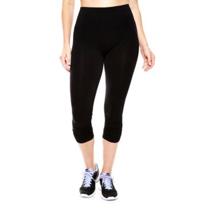 Mixit™ Ruched Capri Leggings