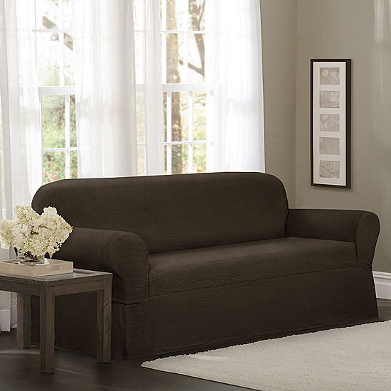 Maytex Smart Cover Torie Medallion Stretch 1 Piece Sofa Furniture Slipcover