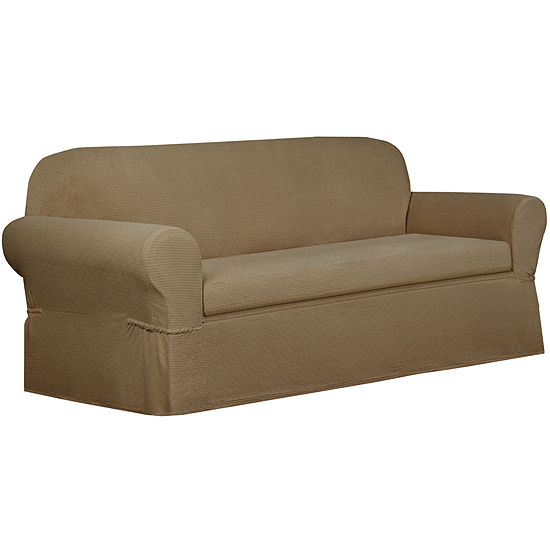 Maytex Smart Cover® Torie Medallion Stretch 2 Piece Loveseat Furniture Cover Slipcover