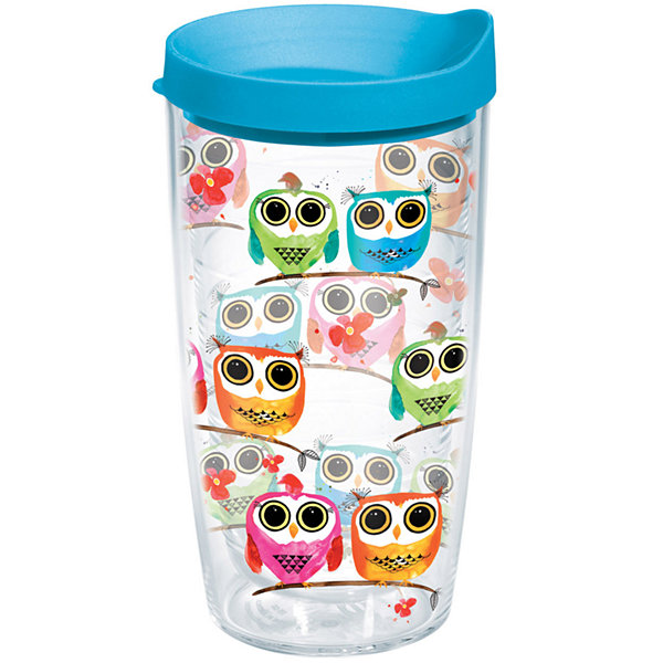 Tervis 16 Oz Owls Insulated Tumbler