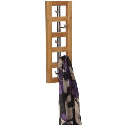 Household Essentials® Vertical 5-Hook Wall Coat Rack