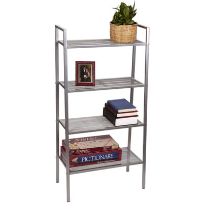 Household Essentials® Freestanding 4-Tier Storage Rack