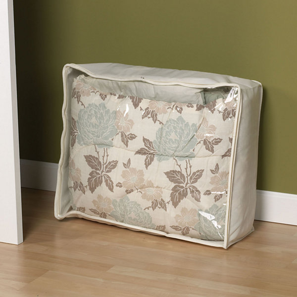 Household Essentials® Canvas Blanket Bag