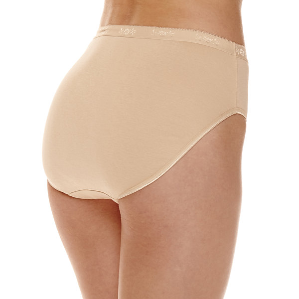 Underscore Cotton Rib Knit High Cut Panty