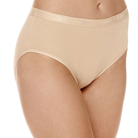 Underscore Cotton Rib Knit Hipster Panty