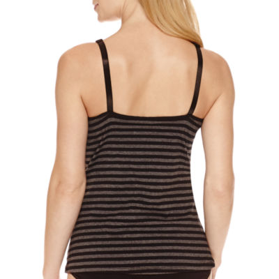 Lamaze Maternity Intimates Cotton/Spandex Striped Nursing Cami