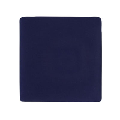 Carters Sateen Crib Sheet- Navy