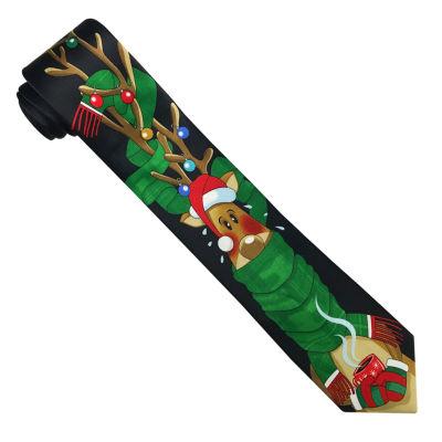 Hallmark® Vertical Reindeer Sweater Tie