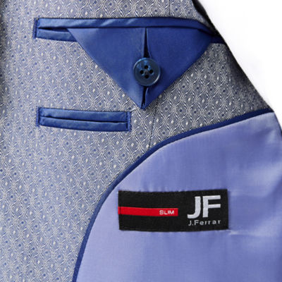 JF J. Ferrar® Blue Dot Sport Coat - Slim Fit