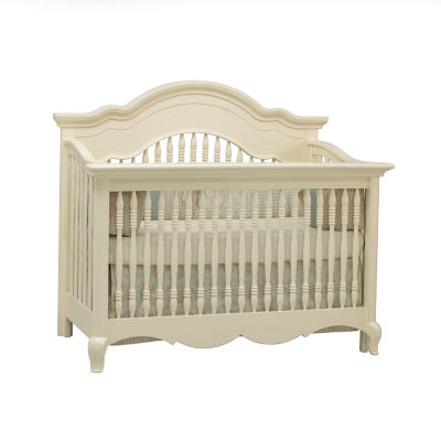 Suite Bebe Julia Lifetime 4-in-1 Crib - White Linen