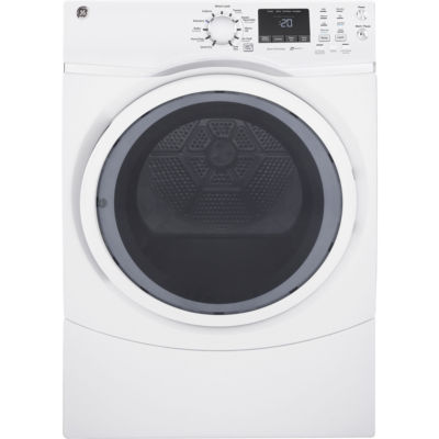 GE® 7.5 cu. ft. Capacity Front-Load Gas Dryer with Steam