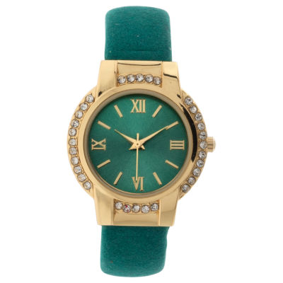 Mixit Womens Gold Tone Bracelet Watch-Jcp3009tg