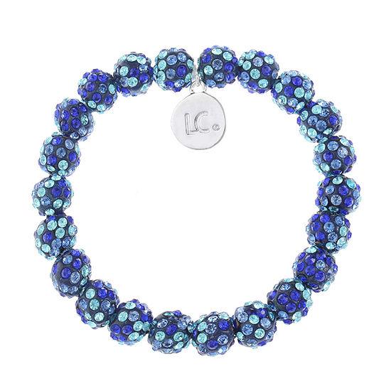 Liz Claiborne Blue Stretch Bracelet