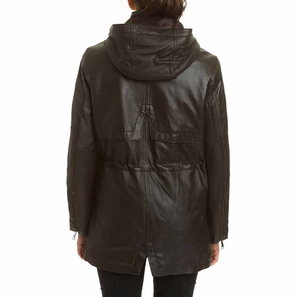 Excelled Leather Midweight Hooded Parka