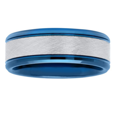 Mens 8mm Tungsten Band