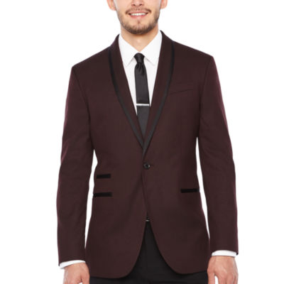 JF J.Ferrar Slim Fit Woven Sport Coat - Slim