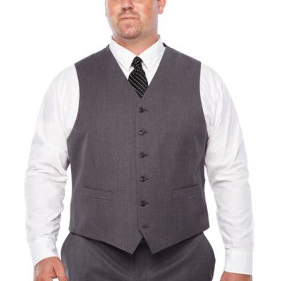 Stafford Travel Stretch Classic Fit Suit Vest - Big and Tall