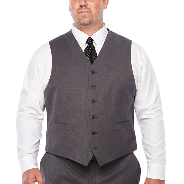 Stafford Classic Fit Suit Vest - Big and Tall