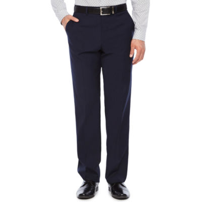 JF J.Ferrar Stripe Stretch Slim Fit Suit Pants - Slim