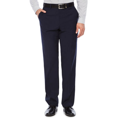 JF J.Ferrar Striped Slim Fit Stretch Suit Pants - Slim