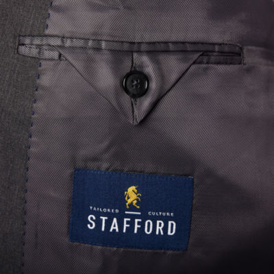 Stafford® Classic Fit Stretch Suit Jacket-Big and Tall
