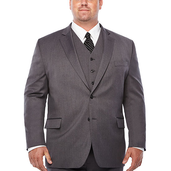 Stafford Classic Fit Stretch Suit Jacket - Portly
