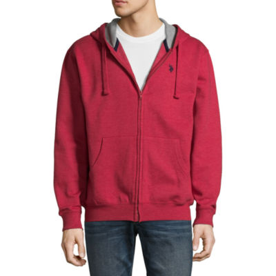 U.S. Polo Assn. Long Sleeve Fleece Hoodie