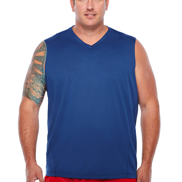 Msx By Michael Strahan Sleeveless T Shirt Big And Tall