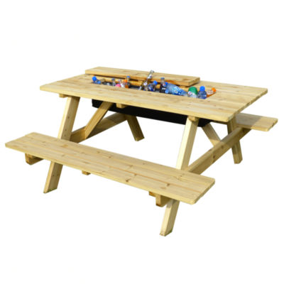 Northbeam Cooler Picnic Table