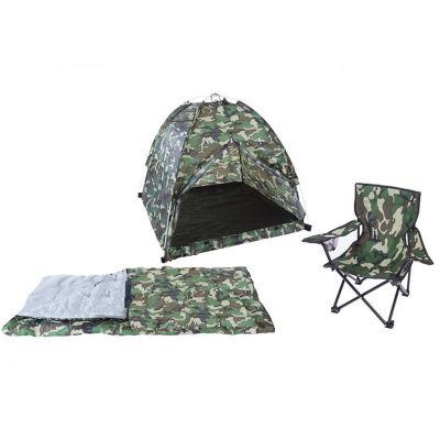 Camo Tent Set