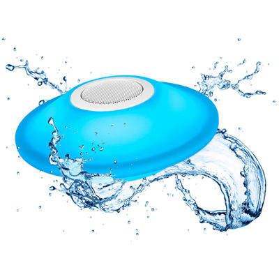 Innovative Technology Glowing Waterproof Rechargeable Bluetooth Pool Speaker