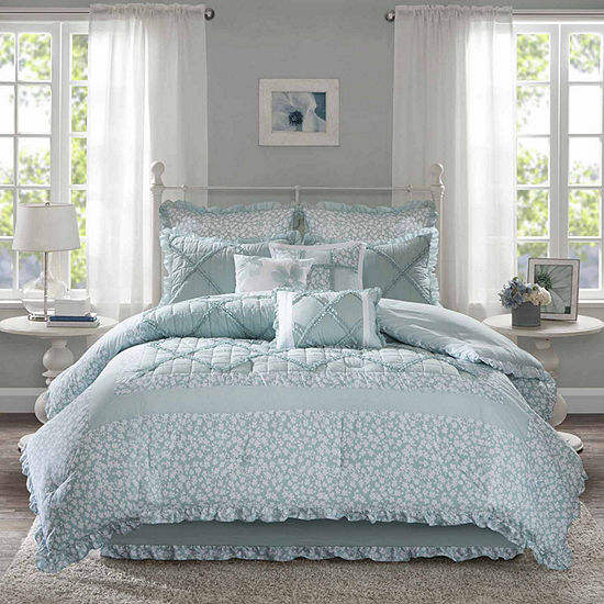 Madison Park Heidi 9-pc. Floral Comforter Set