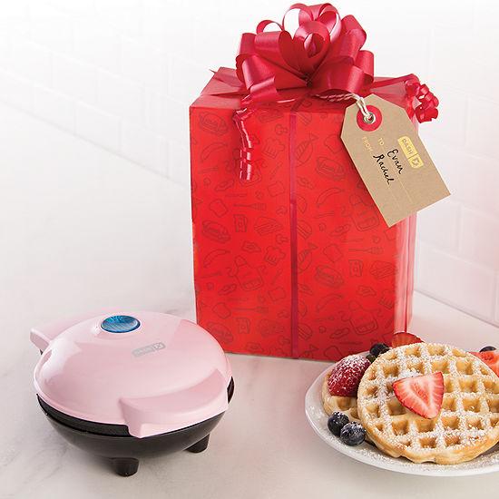 Dash Holiday Bow & Go Mini Maker Waffle