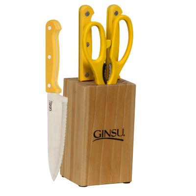 Ginsu 5-pc. Knife Block Set