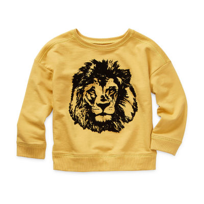 Okie Dokie Little Boys Crew Neck Long Sleeve Sweatshirt