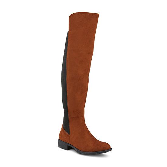 Olivia Miller Womens Flat Heel Booties