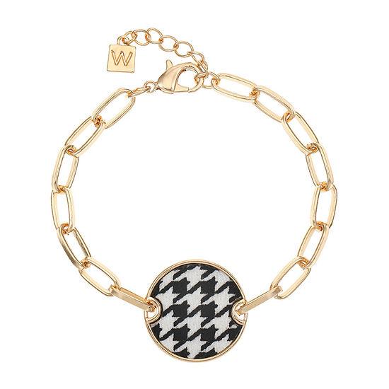 Worthington Houndstooth Chain Bracelet