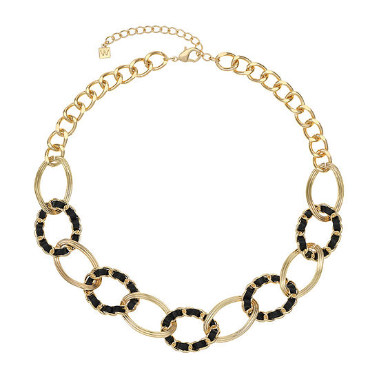 Worthington 21 Inch Curb Collar Necklace