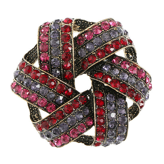 Monet Jewelry Multi Color Knot Pin