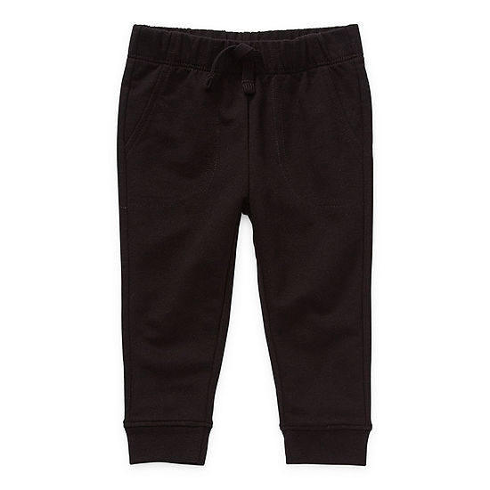 Okie Dokie Baby Boys Cuffed Pull-On Pants