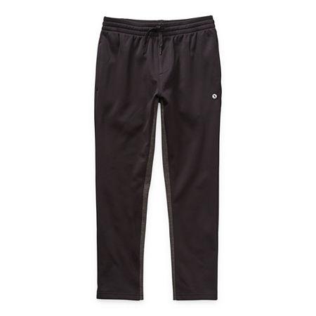 Xersion Little & Big Boys Jogger Tapered Sweatpant, Medium (10-12) , Black