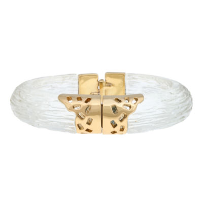 10021 | Kara Ross Resin & Crystal Fragment Bangle