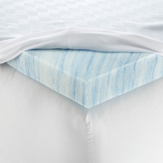 "Isotonic® Therapure™ 2"" Memory Foam Mattress Topper"